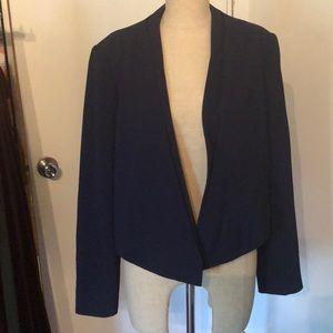 Navy unconstructed jacket